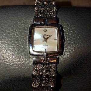 Anne Klein ladies diamond watch
